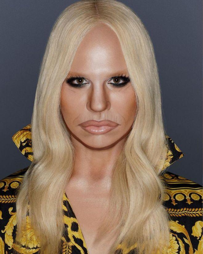 Alexis Stone kot Donatella Versace (Foto: IG @thealexisstone)