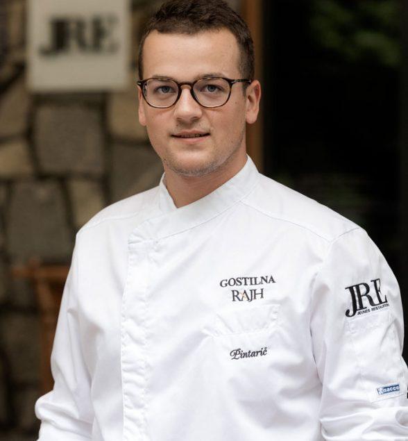 Za vas bo kuhal chef Leon Pintarič iz Gostilne Rajh, ki je bila uvrščena v prestižni Michelinov gastronomski vodnik.