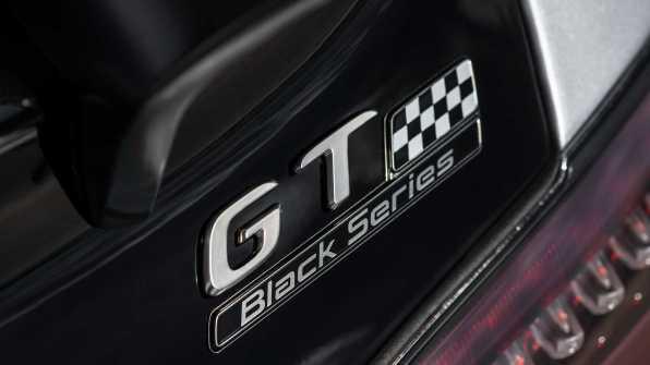 Mercedes Benz AMG GT Black Series