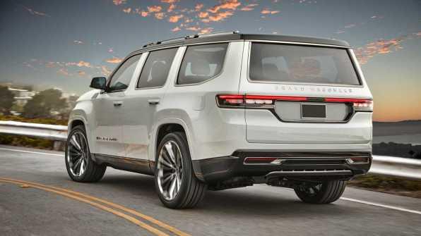 Jeep Grand Wagoneer - 2021 ga bodo pričeli izdelovati v Detroitu!