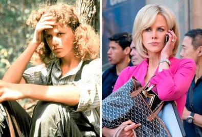 Nicole Kidman v filmu Bush Christmas (1983) in v Bombshell (2019).