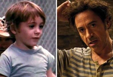 Robert Downey Jr. v filmu Pound (1970) in Dollitle (2020).
