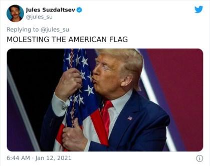 Nadlegovanje ameriške zastave