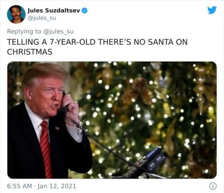 Ko je 7-letniku po telefonu povedal, da Božiček ne obstaja