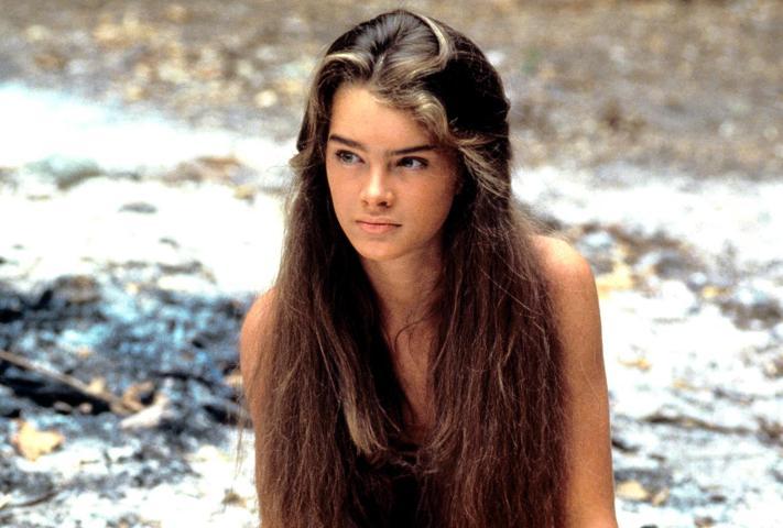 Brooke Shields v filmu Modra laguna (The Blue Lagoon, 1980)