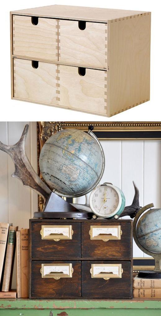 Preprosto predalnik je dobil starinski videz Foto: Boredpanda