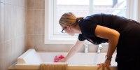 holde badet rent