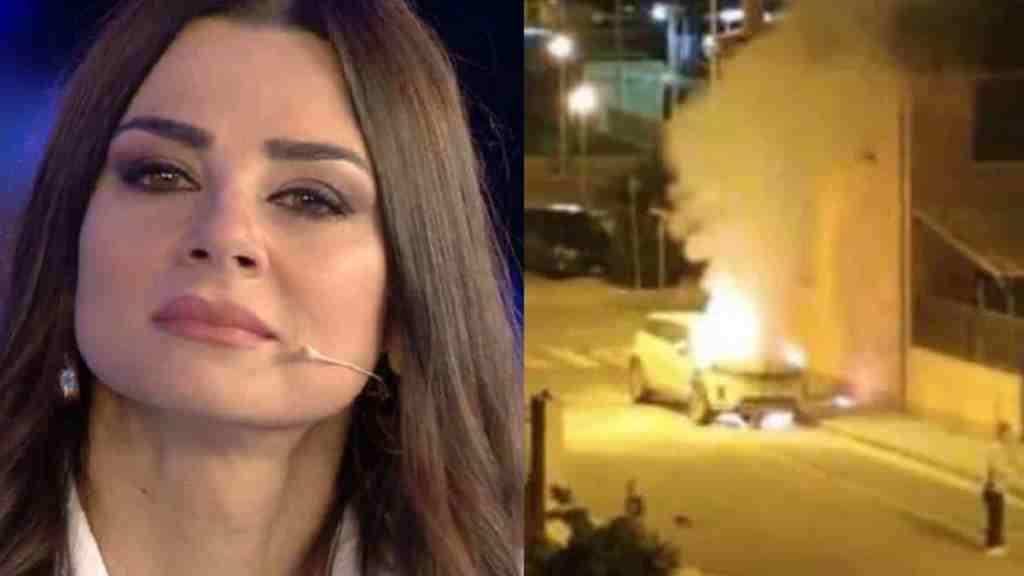 serena-enardu-disperata-dopo-l'incidente,-mostra-le-foto-dell'auto-incendiata