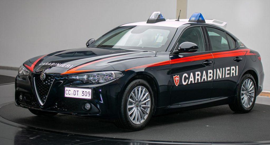 alfa-romeo,-presentata-la-giulia-per-l'arma-dei-carabinieri