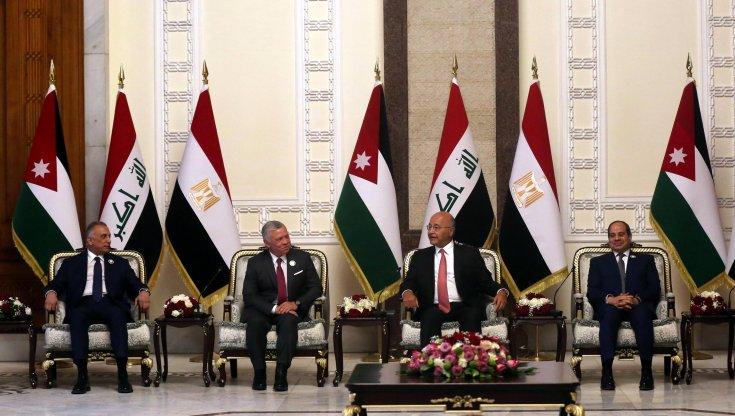 """storica-visita-di-al-sisi-in-iraq-con-re-abdallah:-una-""""alleanza-araba""""-contro-l'influenza-iraniana"""