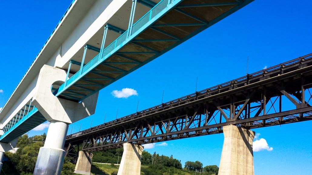 LRT and High Level Bridges
