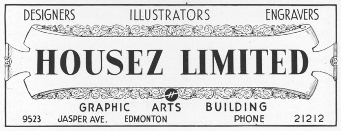An Edmonton ad company from 1946