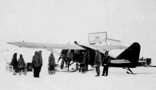 Bellanca at Aklavik