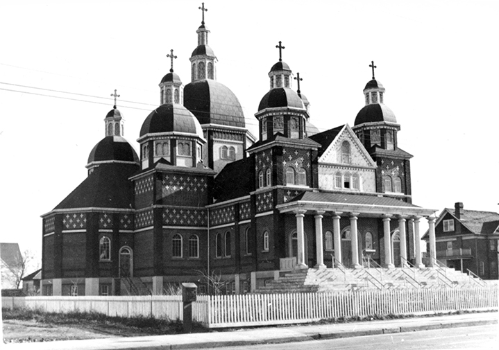 St. Josaphat's Cathedral. Image courtesy of the City of Edmonton Archives EA-10-2299.