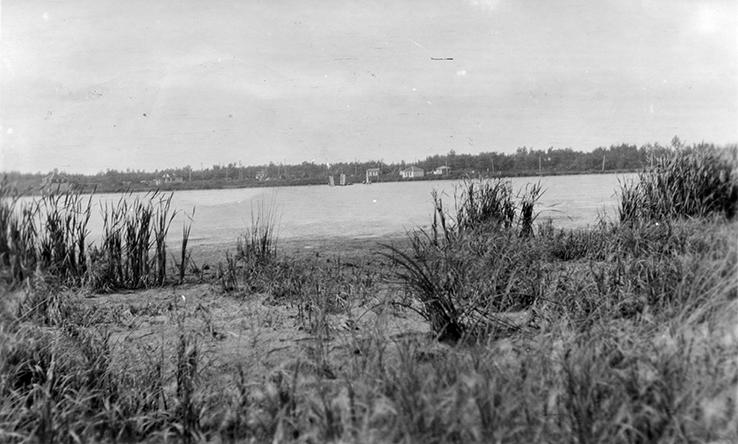 McKernan's Lake c 1912. Image courtesy of the City of Edmonton Archives EA-257-12.