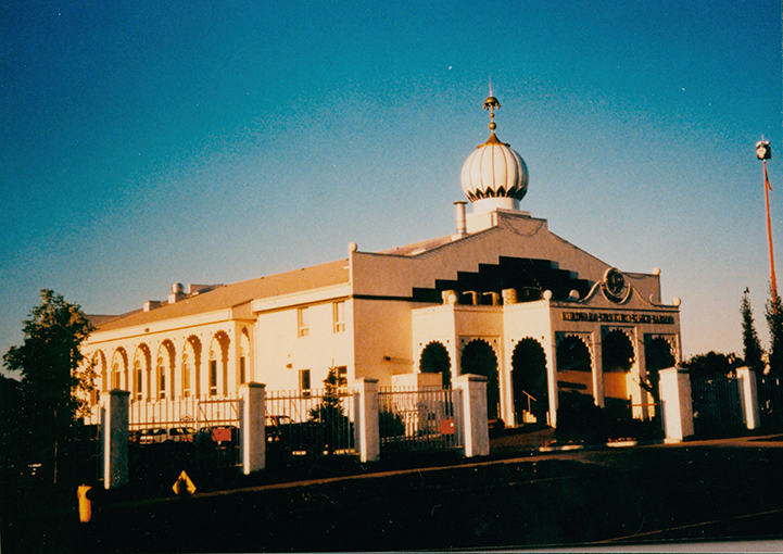 Mill Woods Gurdwara 2606 Mill Woods Road East, circa 1997. Image courtesy of the City of Edmonton Archives EA-596-197.