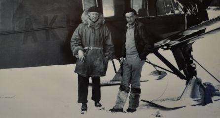 Wop May and Jack Bowen, February 1932.