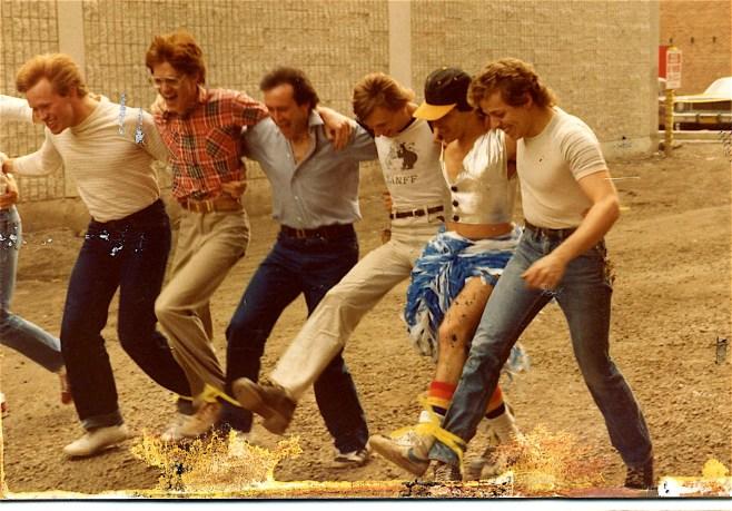 The Four-legged race