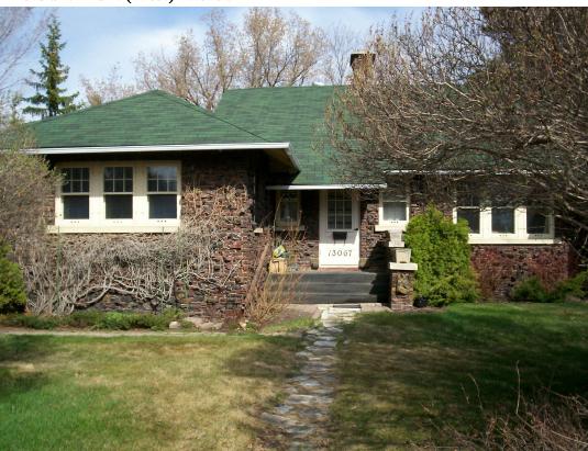 Frederick Jones Residence, 2009. Photo courtesy Edmonton Planning and Development.