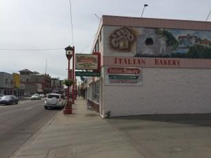 Italian Bakery in Edmonton's Little Italy. Image courtesy of Adriana A. Davies