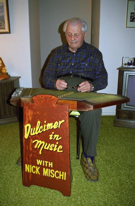 Photo of Nick Mischi circa 1998. Image courtesy of Lawrence Herzog.
