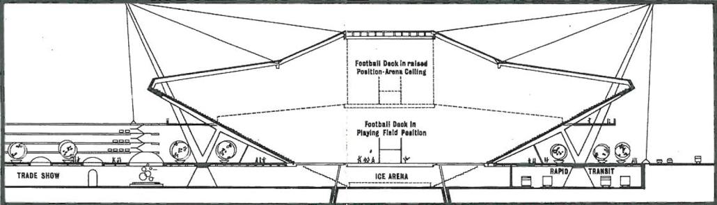 The Batoni Plan. Courtesy of the City of Edmonton Archives