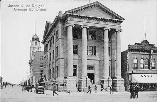 Imperial Bank of Canada, 1912. City of Edmonton Archives, EA-10-283
