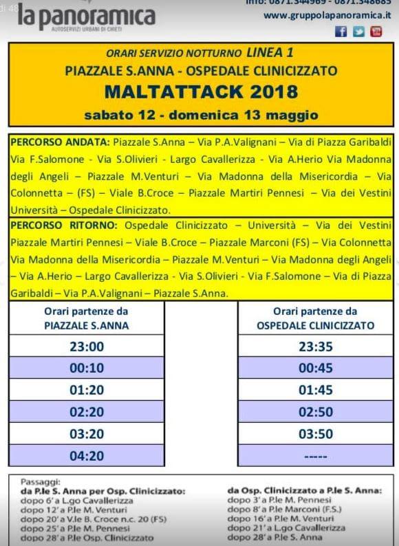 Maltattack Divieti E Orari Dei Bus Navetta