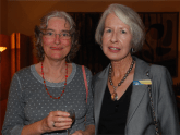 Virginia Rzechowicz and Judy Shalders