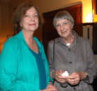 Rita Cranford and Marion Gillespie-Jones