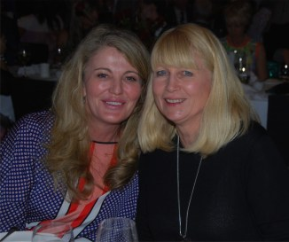 Christine Barber and Lynne Tonks