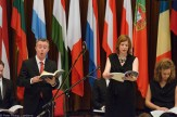 CIMF 2014 - Con01 Europe Day. Richard Butler and Susannah Lawergren.