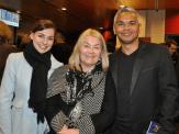 Jessa Rogers, Anne Martin and John Paul Janke