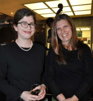 Susannah Helman and Jo Wilson