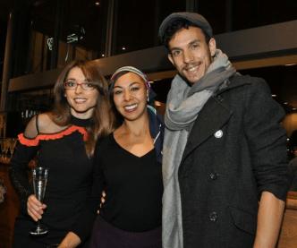 Yolande Brown, JasminSheppard and Kaine Sultan-Babij