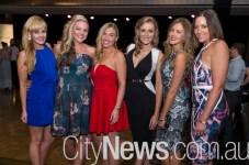 Alissa Montgomery, Bridget O'Sullivan, Emmy Arthurson, Natalie Connor, Alexis Rollings and Jen Colman