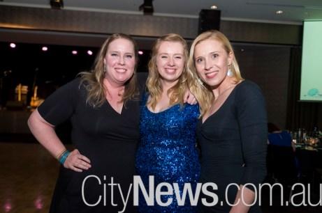 Kate Bingham, Jenna Roberts and Ilona Slopecka
