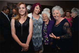 Kaylei Rogers, Janelle Rogers, Dot Feeney, Betty Summerfield