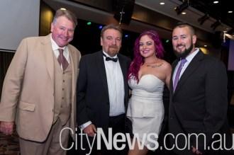 Lindsay Burge, Garry and Erin Green and Tim Leonard