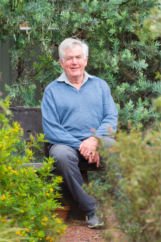 """Tim Woodburn... """"A plant doesn't have to flower to be marvellous."""""""