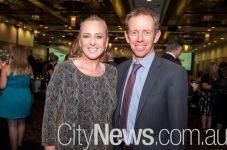 Louise Bilston and Shane Rattenbury MLA