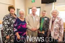 Colleen Nash, Agnes Brown, Ray and Gwen Sheehan and Marjorie Loh