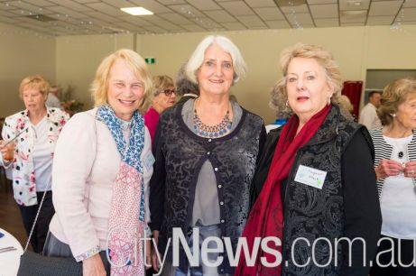 Trish Rigs, Rosemary Baldwin and Margaret Stack