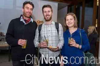 Liam Lilly, Tom Ravenscroft and Anna Ehmann
