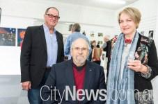 Rick Cochrane, Roger Beal and Kate Scott