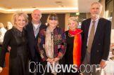 Judy and John Walsh, Gabi Hollows, Rosalyn and Richard Smith
