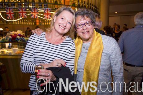 Karen Dempster and Cheryl Irish