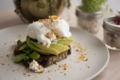 avocado-and-poached-eggs-on-dark-rye-with-broad-beans-peas-danish-feta-and-dukkah-2