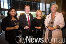 Dilshani Weerasinghe, Peter Godber and Susie and Carol Sinclair