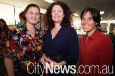 Julia McDonald, Vanessa Morris and Susan Dedman